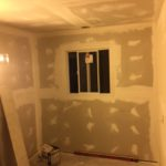 Drywall work on room addition