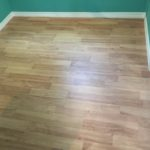 Wood flooring on room addition