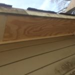 Soffit Repair on Mobile, AL home