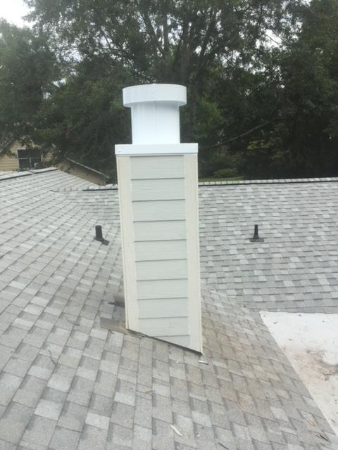 Finished Chimney in Mobile, AL